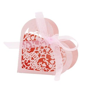 Lot of 20 Candy Box Heart Candy Paper Box Gift for Wedding Party