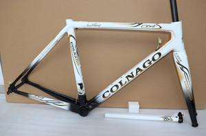 15 couleur 2019 Colnago cadre C64 vélo de route de consigne de cadre carbone cadres de bicyclettes de carbone frameset en or blanc