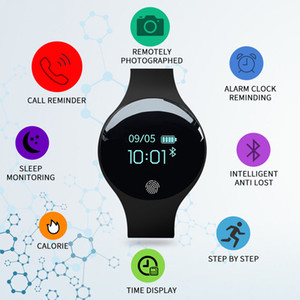 Smart Watch Women Men Sport Watch Fitness Bracelet Color-screen Waterproof Calorie Pedometer Tracker Connect IOS Android