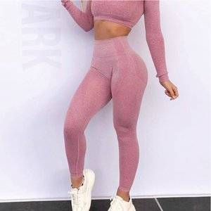 IWUPARTY Sexy High Waist Sport Seamless Leggings Girls Women Stretchy Fitness Running Push Up Yoga Pants Compression Gym Tights Y200529