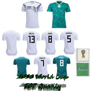 MULLER 축구 유니폼의 드락 슬러는 2018 WORLD CUP KROOS HUMMELS 베르너 SANE 축구 셔츠 camiseta의 alemania KIMMICH 독일 camisa 드 Futebol 팀