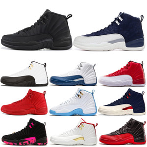 Hot Sale Classic 12 12s Basketball Shoes Mens Trainer Athletic Sports Sneakers Gamma Blue DOERNBECHER PackOutdoors Size 7-13 Drop Shipping