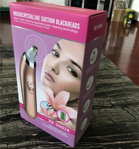 العناية بالوجه الكهربائية البثرة المزيل منظف المسام 7in1 الوجه التطهير فراغ الأنف البثرة إزالة أدوات علاج حب الشباب مع مربع الساخن