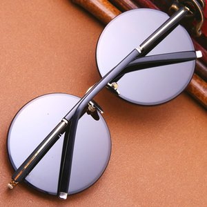 Cubojue Glass Sunglasses Men Women Natural Crystal Stone Sun Glasses for Man Parent Elder Gift Anti Eye Dry Anti Reflect UV400
