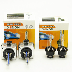 100 pares D2S HID Xenon Bulb farol do carro D2C 12V 35W 6000K 4300K