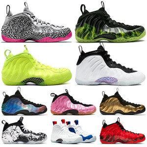 Basketball Schuhe nike air foamposite one pro penny hardaway shoes Paranorman Volt Vandalized Olympic Doernbecher Galaxy  2020 Herren Outdoor Sneakers Trainer Größe us 13