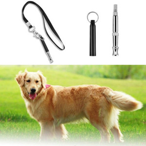 Haustier-Hundetraining Gehorsam Whistle Stop Barking Supersonic Sound Pitch Quiet New Dog Trainings Halter Whistle Vogue Dog Whistles