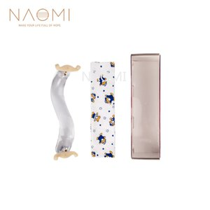 NAOMI Crystal Shoulder Rest 3/4 4/4 Crystal Epaulière pour violon 4/4 3/4 Pièces Accessoires NOUVEAU