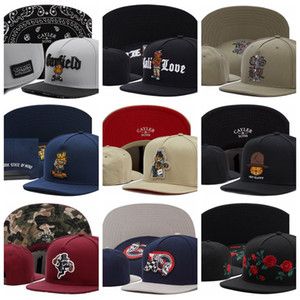 Cayler Sons Baseball Caps New York State of MIND GARFIELD NOT HAPPY CSBL flower floral Snapback القبعات للرجال العظام gorras casquette chapeu