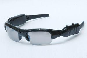 النظارات الشمسية كاميرا مصغرة HD 1280 * 960P 30fps تجهيز نظارات النقالة مسجل فيديو محمولة زارة الداخلية نظارات MINI DV DVR كاميرا الأمن