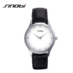 SINOBI Classic Watch Women Fashion Top Brand роскошный кожаный ремешок женские часы Женева Кварцевые наручные часы Relogio Feminino