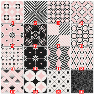 BANMU 40 Tipos PVC Madeira Grain Wall Sticker Paper Tijolo Pedra Wallpaper Rustic Effect Home Decor auto-adesivo traseiro para quarto