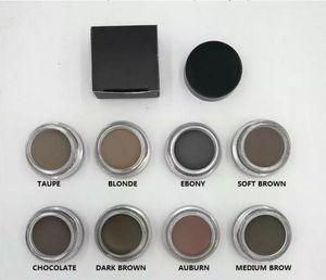 La nuova pomata di sopracciglio pomata migliora la crema impermeabile del sopracciglio di trucco 8 colori con il pacchetto al minuto DHL libero