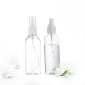 5pcs imirootree / porción de 100 ml de plástico botella recargable del atomizador del perfume PET Freeshipping niebla vacío botella de spray para el empaquetado cosmético