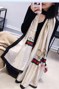 Sciarpa di seta di marca 2019 Donne Spiaggia di estate Scialle lungo Primavera e autunno Lady Elegante Hijab Wraps sciarpe di grandi dimensioni 180X90 CM