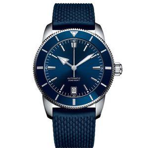 Bracelet en caoutchouc automatique pour hommes d'affaires décontracté SEA mens montre montre-bracelet mens montres designer automatique montre hommes jour date fashion br