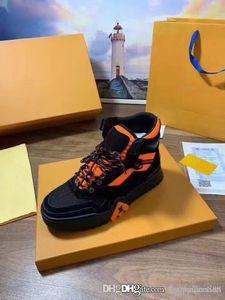 Las últimas zapatillas de deporte de tobillo de senderismo para hombres de 2019 con suela de cuero de becerro, zapatillas de deporte para hombre, zapatillas de deporte de gran tamaño, vienen en tallas 38-45