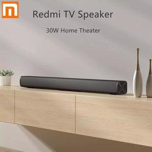 PC 극장 보조 3.5mm의 2020 최신 샤오 미 Redmi TV 바 스피커 유선 및 무선 30W 블루투스 5.0 홈 서라운드 사운드 바 스테레오