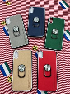 Be applicable iphone 11pro mobile phone shell x xr 2020 leather case iphone6s 7 anti-fall skin protection bracket protective shell