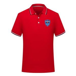 Polos 2020 camisa pólo Yokohama FC mens Futebol Esporte Polo polos de futebol de verão Ativo futebol de manga curta Polo T-shirt dos homens Jerseys