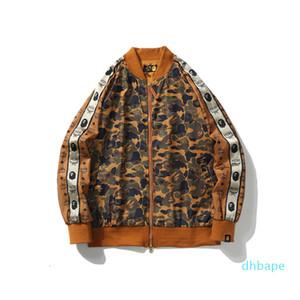 2020 Осень Зима новое поступление мужская повседневная пустынная камуфляжная бейсбольная куртка подросток спортивный камуфляж хип-хоп бейсбольная куртка