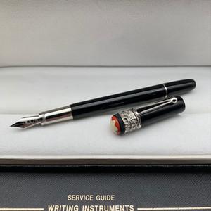 Лимитированная серия MB Брендинг Наследство серии Чёрно-красный паук Шариковая ручка Ручка-роллер Перьевые ручки Письменные офисные школьные принадлежности