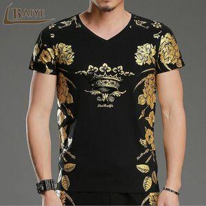 camisa T TBAIYE 2018 Novo Design Homens de Moda de Top homens cobre T-shirt Casual manga curta masculina T-shirt Marca Camiseta