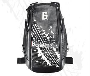 Nuovo off-road moto riding sacchetto cavaliere locomotiva in fibra di carbonio trama repellente casco racing acqua bag