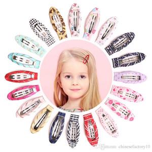 Bambini Carino Fascia per capelli clip fumetto neonate tornante del cuore della farfalla stampata Barrettes dei capelli dei bambini Accessaries Headwear