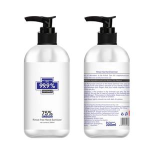300ml 75 grados de alcohol antiséptico y sin lavado de lavado desinfectante de manos gel líquido antibacterial Gel de Manos buen regalo Paquete