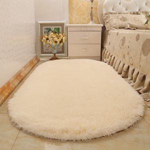 Jia Rui Tappeto ovale accanto al letto moderno minimalista soggiorno tavolino da letto camera da letto comodino tappeto tappetini Pieno di bellissimo negozio di tappeti