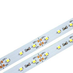 SMD 2835 DC12V 120 Led 100CM rígida Faixa de LED para lâmpada Jóias Night Market Folha Contador Showcase alumínio