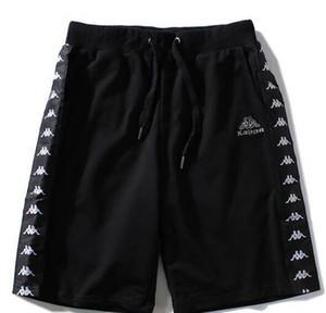 2018 Europa und die Vereinigten Staaten Sport Flut Marke Shorts männlichen ursprünglichen Buchstabedrucken Hip-Hop-lässige Shorts 5 Punkte Hosen Strand