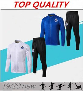 vêtements de sport 2019 2020 FC Porto maillot de foot football Survetement chandal veste de football futbol 19/20 Porto Survêtement Football