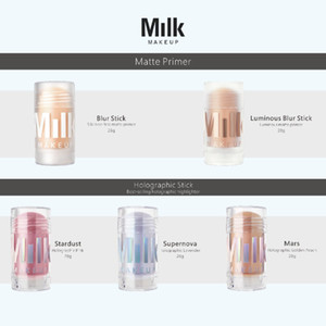 Milk Makeup matte primer Blur Stick Luminous Blur Stick Milk Makeup holographic highlighter Stick 28g Stardust Supernova Mars DHL shipping