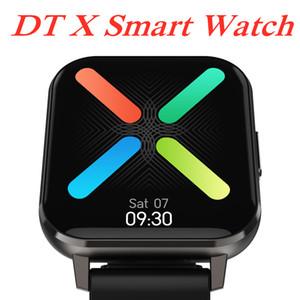 """1.78"""" IPS Full HD display DT X intelligente Guarda BT5.0 IP68 ECG impermeabile monitoraggio SMART Wristband del braccialetto di salute Fitness Tracker"""