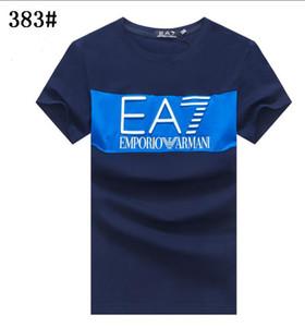 Straßenart und weise 2020 Männer T-Shirt-Design drei Arten von Farb choicemen Luxusdesigner Marke 1FARMANI-T-Shirt