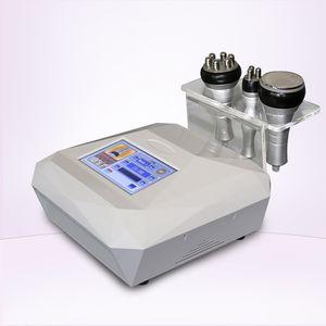 Usine de porcelaine directe nouvelle 3 poignée de la machine cavitation minceur vide dispositif de rajeunissement de la peau de perte de poids portable cavitation RF RF