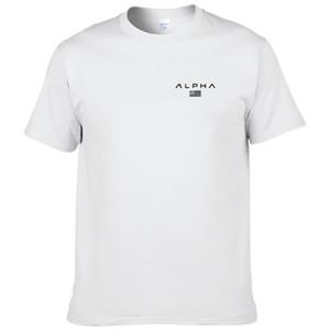 Mens Designer Summer тенниска CUSTOM MADE MEN'S 100% хлопок T-SHIRT NEW FASHION СТИЛЬ BIG SIZE ИНДИВИДУАЛЬНЫЙ печать по требованию Gyms TOPS