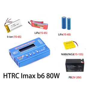 Consumer Electronics HTRC IMAX B6 Balance Ladegerät Entlader für RC Hubschrauber-Re-Spitze NiMH- / NiCd-LCD Smart Battery Charger + 15V 6A Adapter