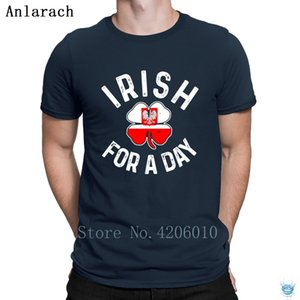 Polish Drinking Team T-Shirt Casual Costume Round Collar T Shirt For Men Websites Summer Style Personality Anlarach Interesting