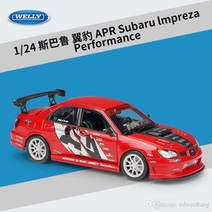 Welly Diecast автомобилей модели игрушек, Subaru lmpreza Performance Roadster, 1:24 Высокая Моделирование, для партии Kid День рождения Подарки, Коллекционирование, Украшения