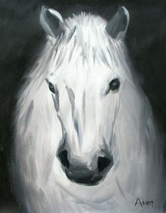 Tierpferdeölgemälde auf Leinwand-Wand-Kunst Bildwohnkultur Hohe Quaity Handpainted HD Printed