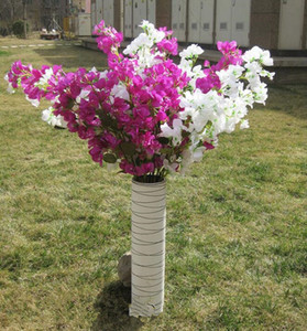 46inch Begonvil Yapay çiçekler 2020 süslemeler Kiraz Çiçekleri Toptan Bitki Kat Simülasyon Düğün Bahçe ve Alışveriş Merkezi