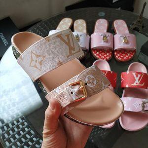 Мода сандалии вперед 2020 горячие продажи сандалии для мужчин и женщин классические плоские тапочки высокое качество цветок печатных тапочки