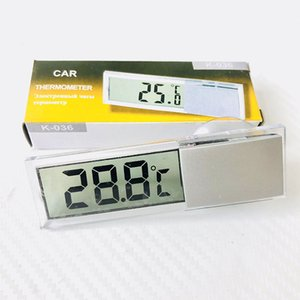 Automobil Osculum Typ Thermometer Transparent Saugnapf LCD Digital Display Thermografie High Quality