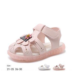 II14q Baby 20201-3-5 years old children soft bottom Sandals children's children's shoes anti-skid toddler shoes baby female sandals Princess