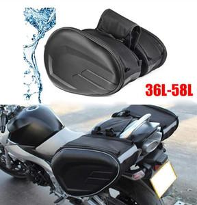 레인 코트의 최신 SA212 오토바이 방수 레이싱 경주 모토 헬멧 여행 가방 가방 안장 + 한 쌍