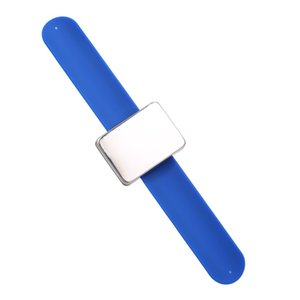 Magnetic Hair Clips Adjustable Silicone Bracelet Bobby Pins Wristband Holder Strap for W9822BL