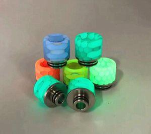 810 Snake Skin modello Resina Boccaglio per TFV8 810 Serbatoio Atomizzatore drip tips sigaretta elettronica pezzi vapor vapor Vape drip tips